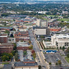 Aerial Photo of Downtown Hammond, Indiana