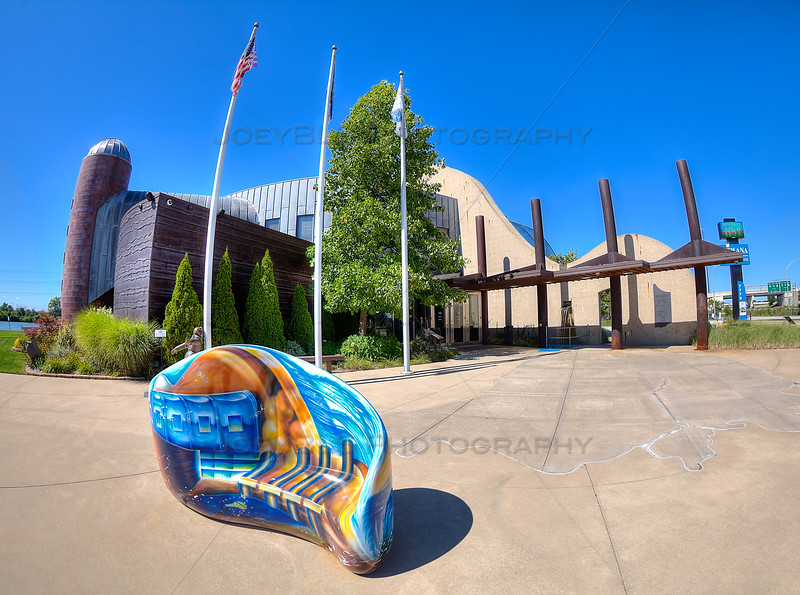 The Indiana Welcome Center in Hammond, Indiana