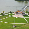 Aerial Photo of Hammond, Indiana - The Pavilion Wolf Lake