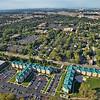 Aerial Purdue University Housing in Hammond, Indiana