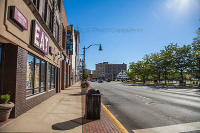 Downtown Hammond, Indiana on Hohman Avenue