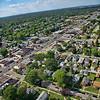 Aerial Hammond, Indiana Calumet Ave