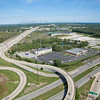 Aerial Photo of Hammond, Indiana - Indianapolis Blvd Interchange with I-80/94