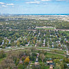 Aerial Photo of Schleicker Neighborhood in Hammond, Indiana
