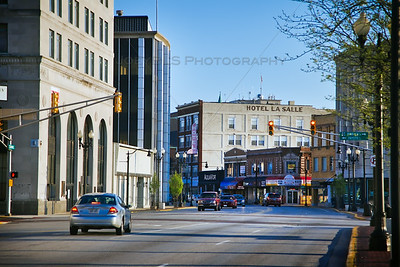 Hohman Ave in Downtown Hammond, Indiana