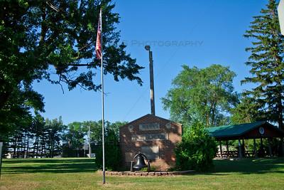 Hanna, Indiana High School Monument