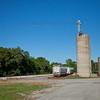 Hanna, Indiana Railroad and Silo