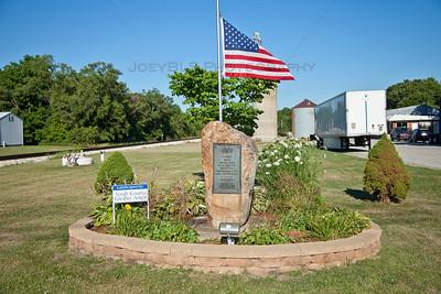 Downtown Hanna, Indiana Memorial