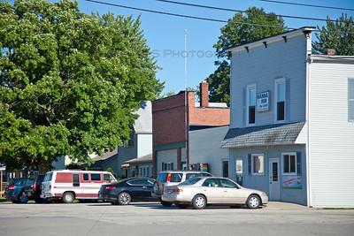 Downtown Hanna, Indiana