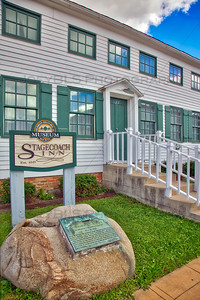 Stagecoach Inn in downtown Hebron, Indiana