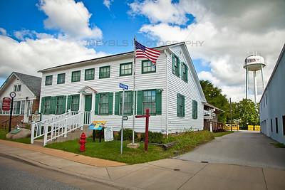 Historic Hebron, Indiana Stagecoach Inn