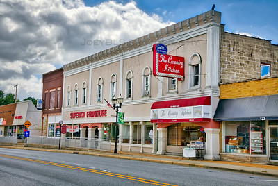 Downtown Hebron, Indiana