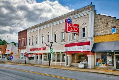 Downtown Hebron, Indiana