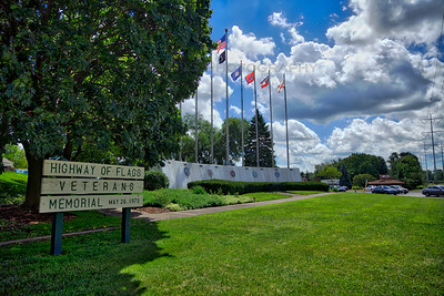 Highland, Indiana Highway of Flags Veterans Memorial