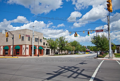 Downtown Highland, Indiana on Highway Avenue