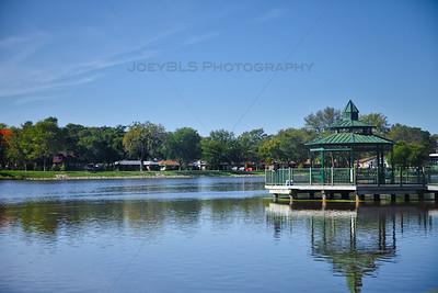 Hobart, Indiana Lake George Gazebo