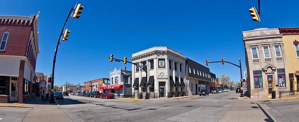 Downtown Hobart, Indiana