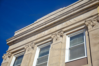 First State Bank Building in Downtown Hobart, Indiana