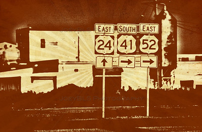 Kentland, Indiana at US 41 US 24 and US 52
