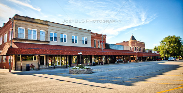 Downtown Kentland, Indiana