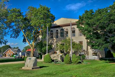Newton County Court House in Kentland, Indiana