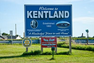 Welcome to Kentland, Indiana