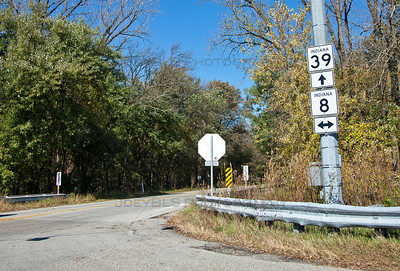 Knox, Indiana Route 39 and Route 8