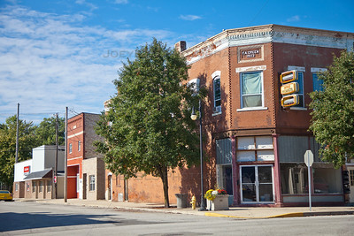 F A Green Building Downtown Knox, Indiana