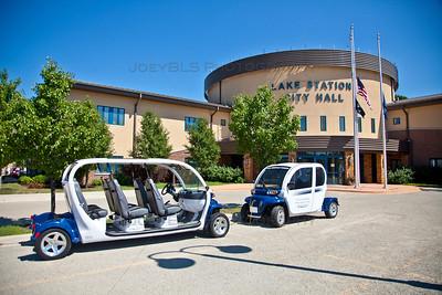 Lake Station, Indiana City Hall Electronic Vehicles
