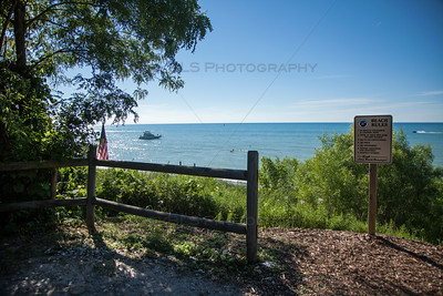 Long Beach, Indiana View of Lake Michigan