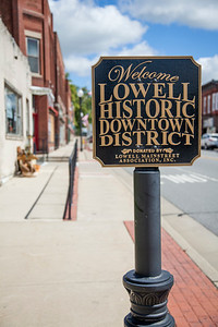 Lowell, Indiana Historic Downtown District Vertical