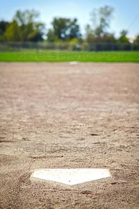 Baseball and Softball Fields at Hidden Lake Park in Merrillville, Indiana