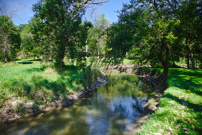 Turkey Creek at Hidden Lake Park in Merrillville, Indiana