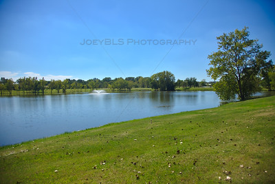 Hidden Lake Park in Merrillville, Indiana