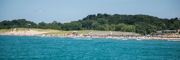Michigan City, Indiana Washington Park Beach
