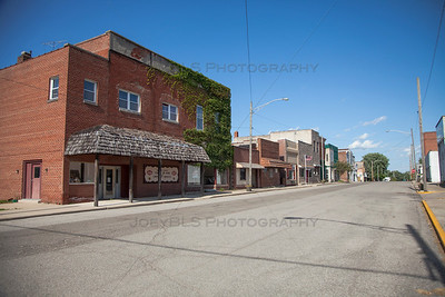Downtown Morocco, Indiana