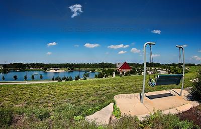 Centennial Park in Munster, Indiana