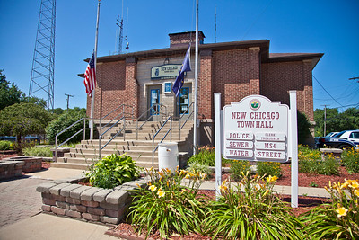 New Chicago, Indiana Town Hall