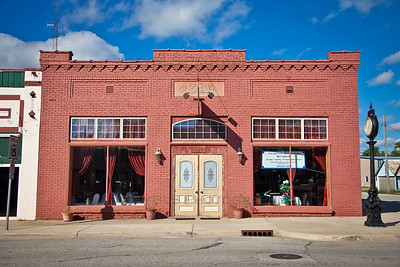 Grand Station - C.A. Spenner Building in Downtown North Judson, Indiana