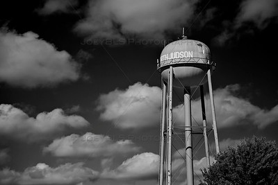 North Judson, Indiana Water Tower BW