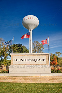 Founders Square in Portage, Indiana