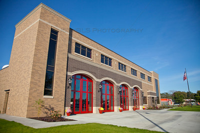 Portage, Indiana Fire Station on Central Ave