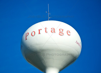 Portage, Indiana Water Tower