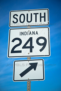 IN-249 South in Portage, Indiana