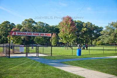 Portage, Indiana Dog Park at Woodland Park