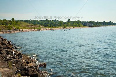 Portage, Indiana Lakefront Beach and Riverwalk