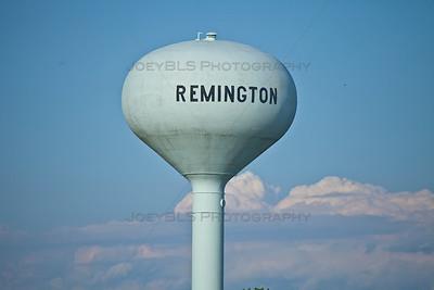 Remington, Indiana Water Tower
