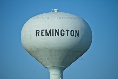 Remington, Indiana Water Tower