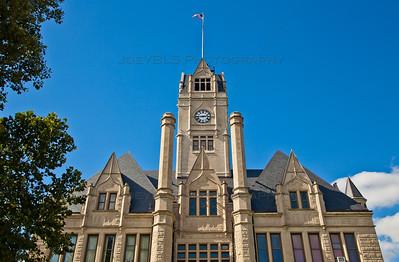 Jasper County Court House in Rensselaer, Indiana
