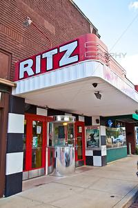 Ritz Theater downtown Rensselaer, Indiana